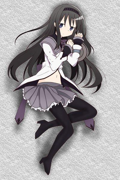 Tags: Anime, Pixiv Id 20818656, Mahou Shoujo Madoka☆Magica, Akemi Homura, Pixiv, Fanart, Fanart From Pixiv