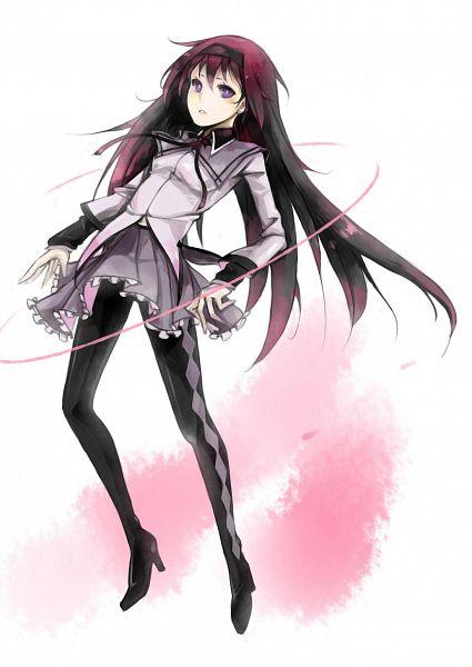 Tags: Anime, Pixiv Id 2844903, Mahou Shoujo Madoka☆Magica, Akemi Homura, Fanart, Fanart From Pixiv, Pixiv