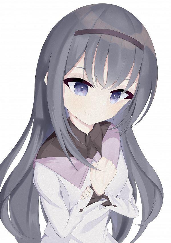 Tags: Anime, Pixiv Id 55006503, Mahou Shoujo Madoka☆Magica, Akemi Homura, Pixiv, Fanart, Fanart From Pixiv