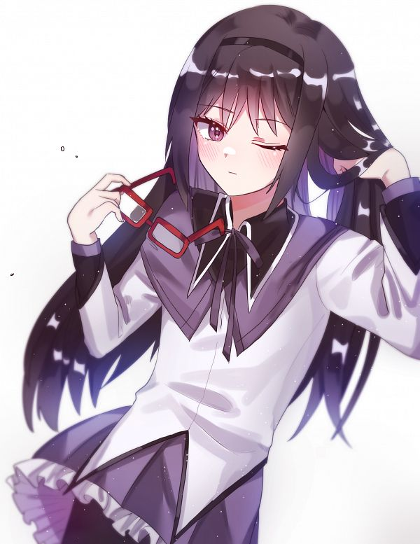 Tags: Anime, Pixiv Id 61326387, Mahou Shoujo Madoka☆Magica, Akemi Homura, Fanart, Fanart From Pixiv, Pixiv