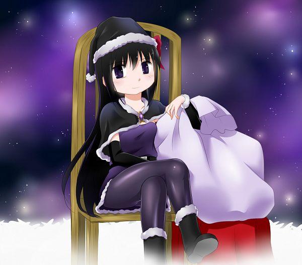 Tags: Anime, Hipporit, Mahou Shoujo Madoka☆Magica, Akemi Homura, Fanart, Fanart From Pixiv, Pixiv