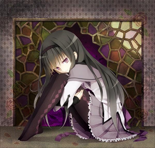 Tags: Anime, Akira (Ku0427), Mahou Shoujo Madoka☆Magica, Akemi Homura, Mosaic Pattern