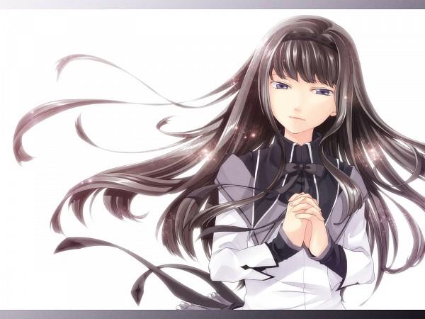 Tags: Anime, Jyuru, Mahou Shoujo Madoka☆Magica, Akemi Homura, Wallpaper