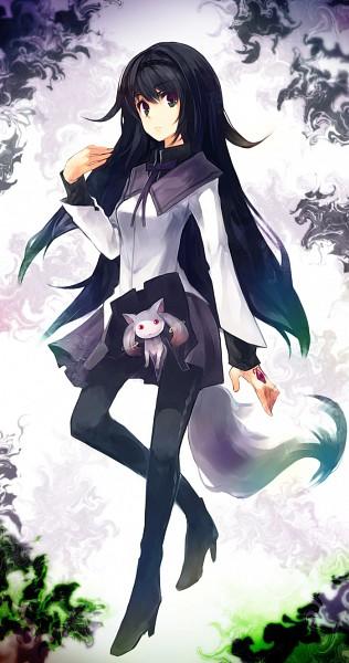 Tags: Anime, ukyo_rst, Mahou Shoujo Madoka☆Magica, Kyubee, Akemi Homura