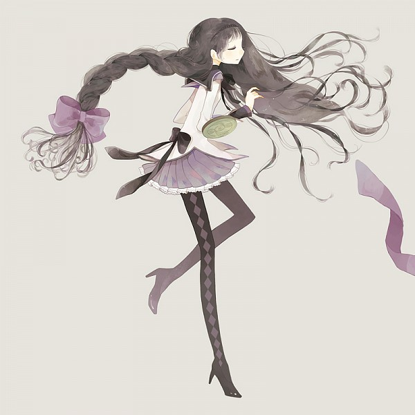 Tags: Anime, Pom (Soupy), Mahou Shoujo Madoka☆Magica, Akemi Homura