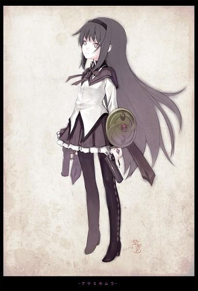 Tags: Anime, Kiran (Artist), Mahou Shoujo Madoka☆Magica, Akemi Homura