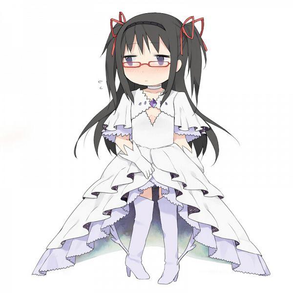 Tags: Anime, Knt31, Mahou Shoujo Madoka☆Magica, Akemi Homura, Ultimate Madoka (Cosplay), Pixiv, Fanart