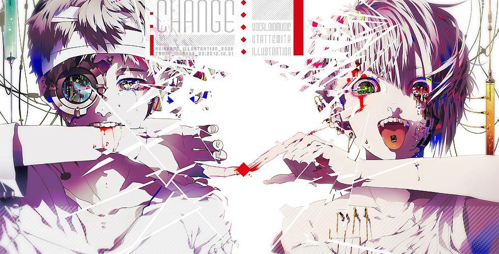 Tags: Anime, Akiakane, Bandaged Head, Facebook Cover, Pixiv, Comic Market 83, Comic Market