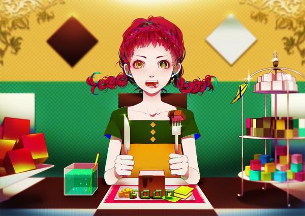 Tags: Anime, Akiakane, Kakkurau, Original, Pixiv