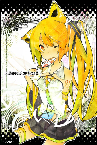 Tags: Anime, VOCALOID, Akita Neru, Mobile Wallpaper