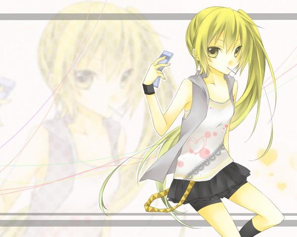 Tags: Anime, Li, VOCALOID, Akita Neru, Fanart, Pixiv, Wallpaper, Official Derivatives