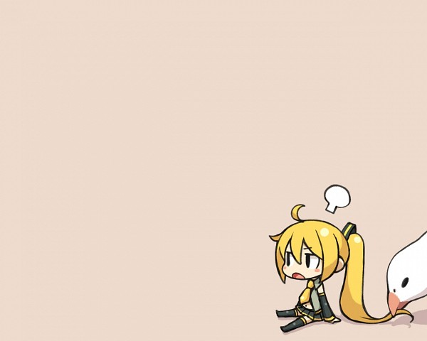 Tags: Anime, CHAN×CO, VOCALOID, Akita Neru, Seagull, Enlarged, Wallpaper, Official Derivatives