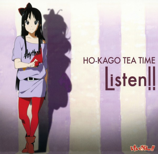 Tags: Anime, Horiguchi Yukiko, Kyoto Animation, K-ON!, Akiyama Mio, Listen!!, Official Art, Mio Akiyama