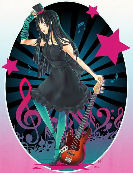 "Tags: Anime, Chocographs, K-ON!, Akiyama Mio, Don't Say ""Lazy"", Mio Akiyama"