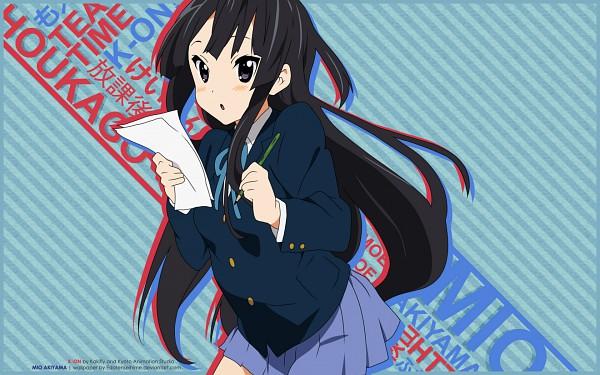 Tags: Anime, K-ON!, Akiyama Mio, Wallpaper, Mio Akiyama