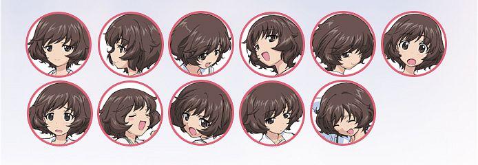 Tags: Anime, Actas, GIRLS und PANZER, Akiyama Yukari, Official Art, Yukari Akiyama