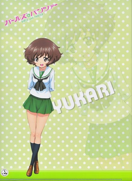 Tags: Anime, Actas, GIRLS und PANZER, Akiyama Yukari, Official Art, Scan, Yukari Akiyama
