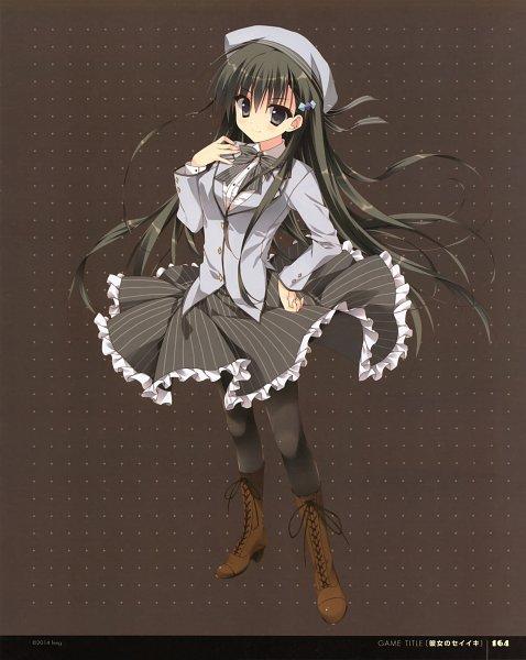 Tags: Anime, Ryohka, Kurimi, Kanojo no Seiiki, Akiyoshi Fuyuka, Scan, Official Art