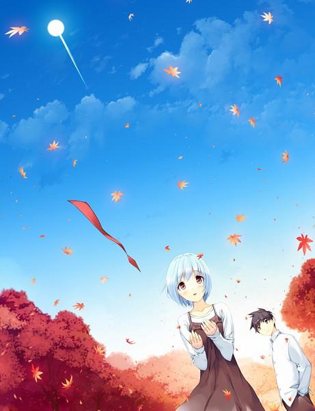 Tags: Anime, Ueda Ryou, Etude, Akizora ni Mau Confetti, Kenzaki Masato, Kamishiro Yuki