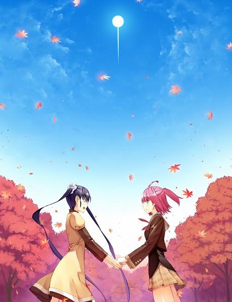 Tags: Anime, Ueda Ryou, Etude, Akizora ni Mau Confetti, Kanae (Akizora Ni Mau Confetti), Ando Saya