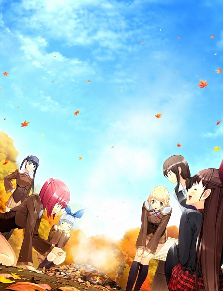 Tags: Anime, Ueda Ryou, Etude, Akizora ni Mau Confetti, Kanae (Akizora Ni Mau Confetti), Kamishiro Yuki, Akitsu Kozue, Namihara Moe, Ando Saya, Sakura Nanami