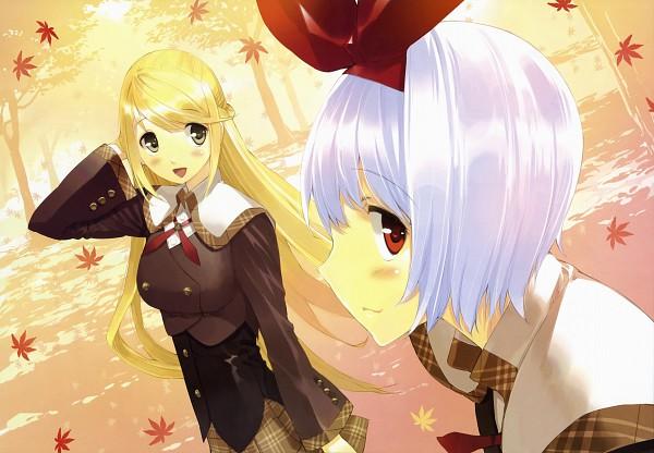 Tags: Anime, Ueda Ryou, Etude, Akizora ni Mau Confetti, Sakura Nanami, Kamishiro Yuki