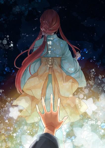 Tags: Anime, Pixiv Id 2227660, Shinsekai Yori, Akizuki Maria, Fanart From Pixiv, Mobile Wallpaper, Pixiv, Fanart
