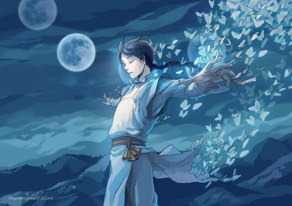 Tags: Anime, Akru, Disappearing, Pixiv, Original, Wallpaper