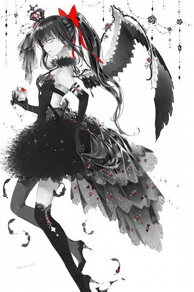 Tags: Anime, Jiinyo, Mahou Shoujo Madoka☆Magica, Akemi Homura, Akuma Homura, Mini Crown, Pixiv