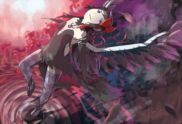 Tags: Anime, Pixiv Id 6323737, Mahou Shoujo Madoka☆Magica, Akuma Homura, Akemi Homura, Pixiv, Fanart, Fanart From Pixiv