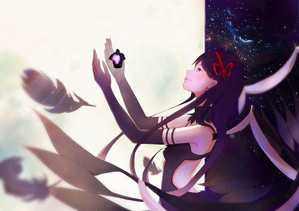 Tags: Anime, Pixiv Id 3429749, Mahou Shoujo Madoka☆Magica, Akemi Homura, Akuma Homura, Dark Orb, Fanart From Pixiv, Pixiv, Fanart