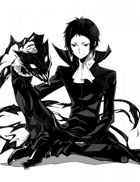 Tags: Anime, Four-kunn, Bungou Stray Dogs, Akutagawa Ryuunosuke (Bungou Stray Dogs), Fanart, Fanart From Pixiv, PNG Conversion, Pixiv