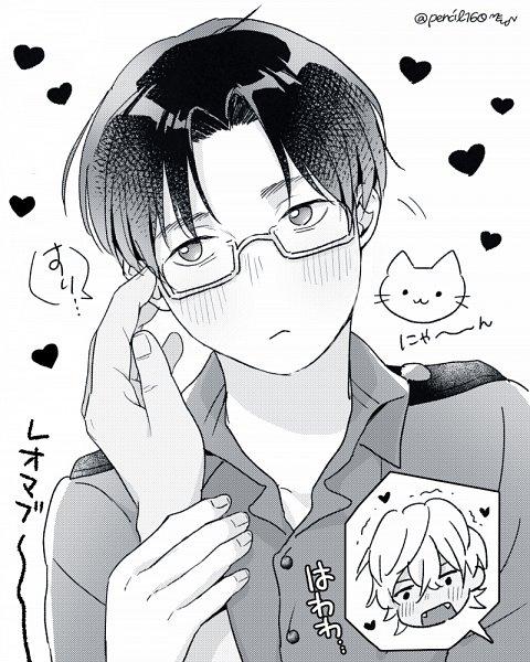 Tags: Anime, Pixiv Id 9864330, Sarazanmai, Akutsu Mabu, Niiboshi Reo, ReoMabu