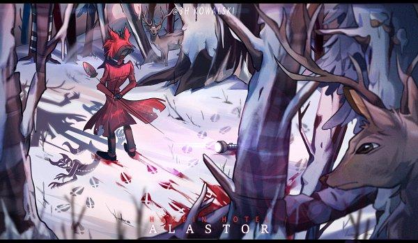 Tags: Anime, 3hkowalski, Hazbin Hotel, Alastor (Hazbin), Twitter