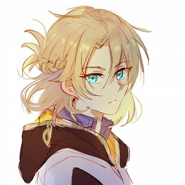 Tags: Anime, Frederica (Pixiv 9415630), Genshin Impact, Albedo (Genshin Impact), Twitter, Fanart