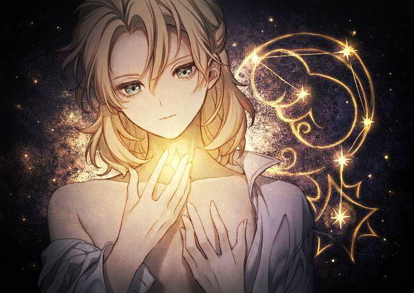 Tags: Anime, Pixiv Id 46836786, Genshin Impact, Albedo (Genshin Impact), Zodiac (Symbol)