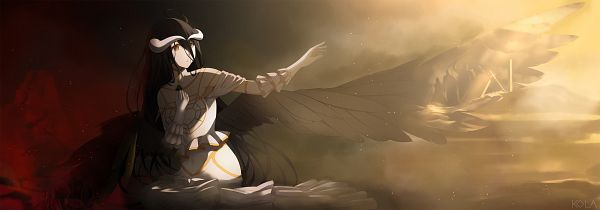Tags: Anime, Pixiv Id 4103036, Overlord, Albedo (Overlord)