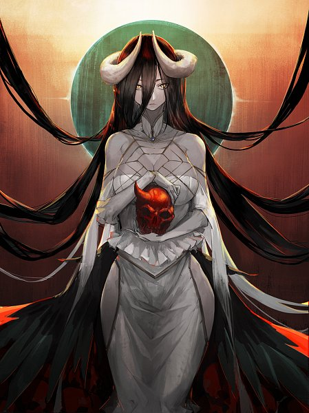 Tags: Anime, bamuth, Overlord, Albedo (Overlord), deviantART