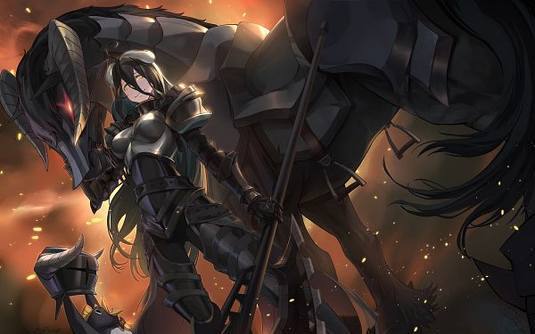 Tags: Anime, Pixiv Id 13448944, Overlord, Albedo (Overlord), Fanart, Fanart From Pixiv, Pixiv
