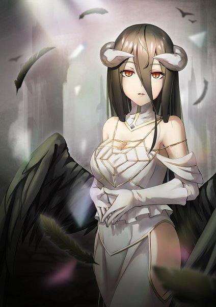 Albedo :: Overlord by MelaMushroom on DeviantArt