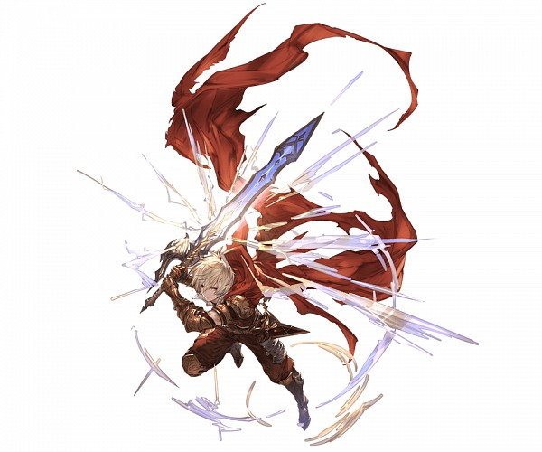 Tags: Anime, Minaba Hideo, Cygames, Granblue Fantasy, Albert (Shingeki no Bahamut), Cover Image, Official Art