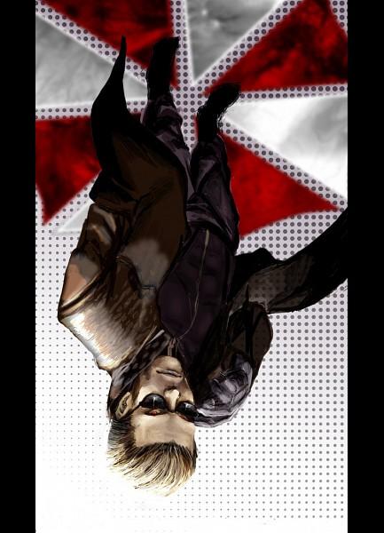 Tags: Anime, Resident Evil, Albert Wesker, Mobile Wallpaper, Artist Request