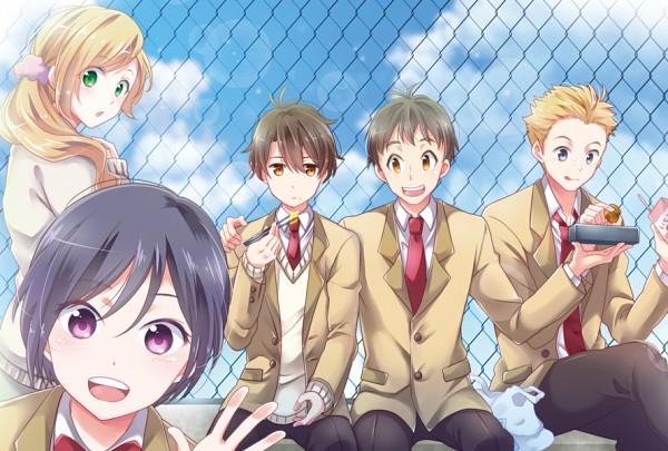 Tags: Anime, Pixiv Id 466254, Aldnoah Zero, Amifumi Inko, Kaizuka Inaho, Nina Klein, Mikuni Okisuke, Calm Craftman, Pixiv, Fanart, Fanart From Pixiv