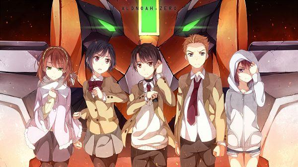 Tags: Anime, Yuuri Nayuta, Aldnoah Zero, Calm Craftman, Amifumi Inko, Kaizuka Inaho, Asseylum Vers Allusia, Rayet Areash, Revision, Wallpaper, Facebook Cover