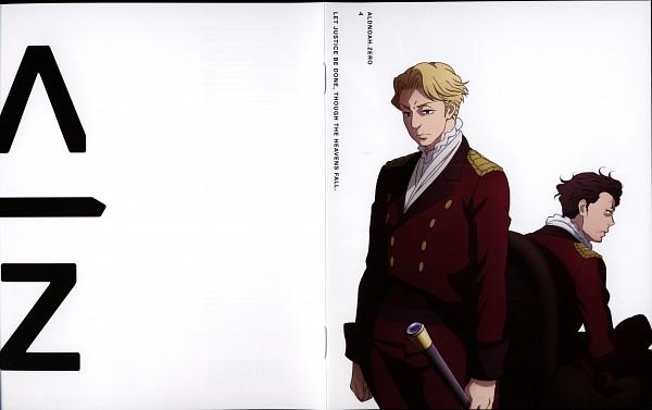 Tags: Anime, TROYCA, A-1 Pictures, Aldnoah Zero, Cruhteo (Aldnoah Zero), Saazbaum (Aldnoah Zero), Official Art, Scan, DVD (Source)