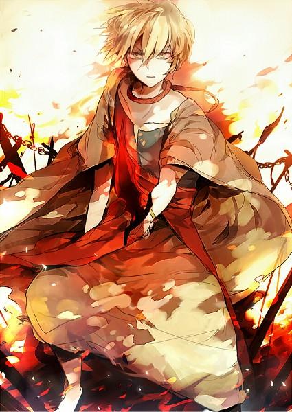 Tags: Anime, Ayatoki, MAGI: The Labyrinth of Magic, Ali Baba Saluja, Fanart, Pixiv, Mobile Wallpaper
