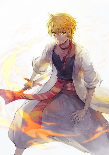 Tags: Anime, Pixiv Id 5130445, MAGI: The Labyrinth of Magic, Ali Baba Saluja, Pixiv, Mobile Wallpaper, Fanart