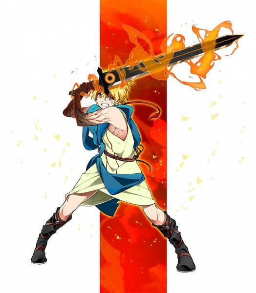 Tags: Anime, Dalc Rose, MAGI: The Labyrinth of Magic, Ali Baba Saluja, Rukh, Pixiv, Fanart