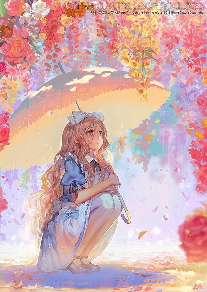 Tags: Anime, Alphonse, Alice in Wonderland, Alice (Alice in Wonderland), Pixiv, Original, Mobile Wallpaper