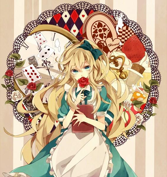 Tags: Anime, Pixiv Id 3703525, Alice in Wonderland, Alice (Alice in Wonderland), Pixiv